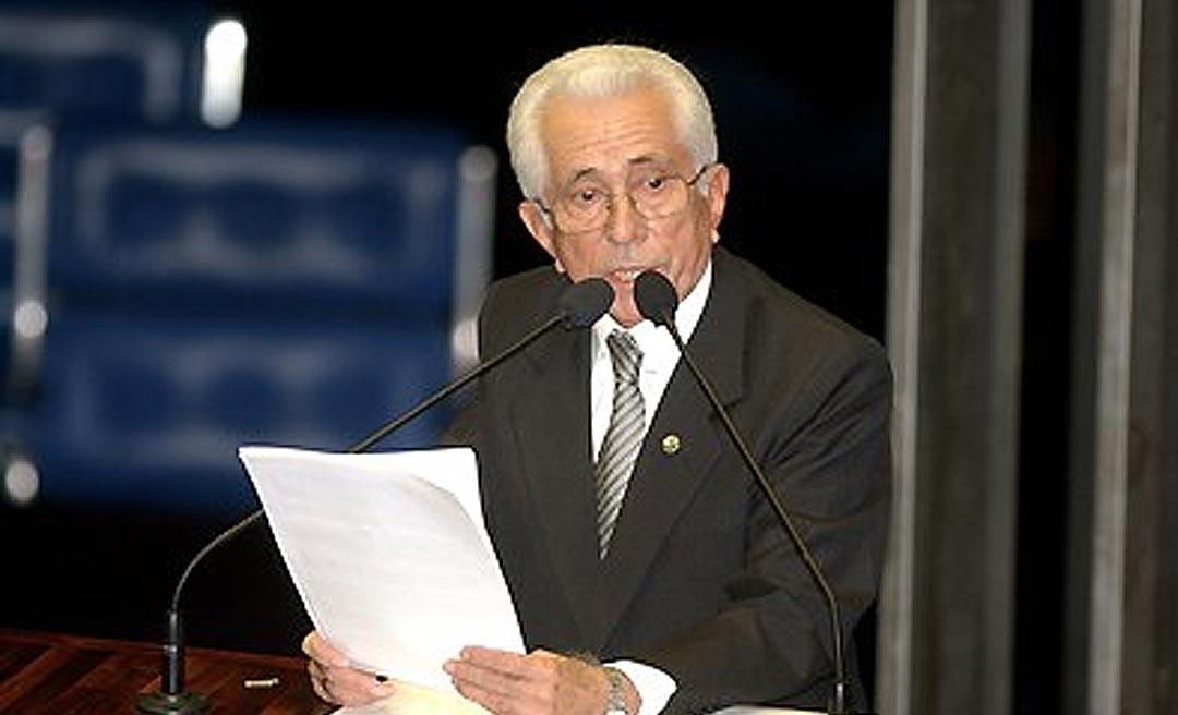 Ex-senador Nabor Júnior lança livro autobiográfico em setembro no Acre