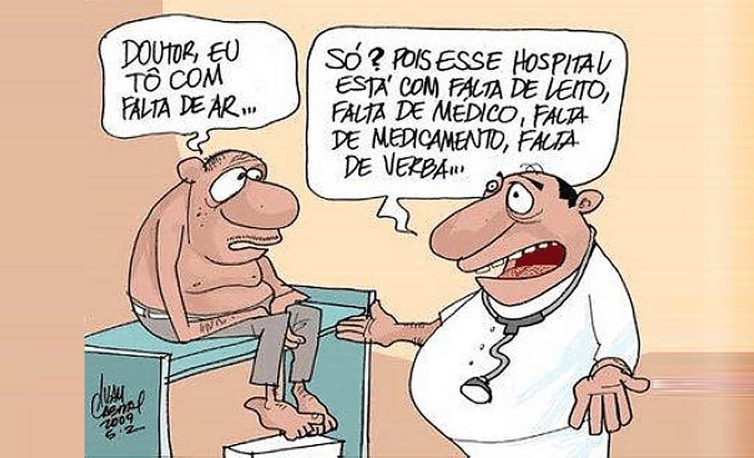 Comerciantes doam sopa para pacientes não passarem fome no hospital de Feijó