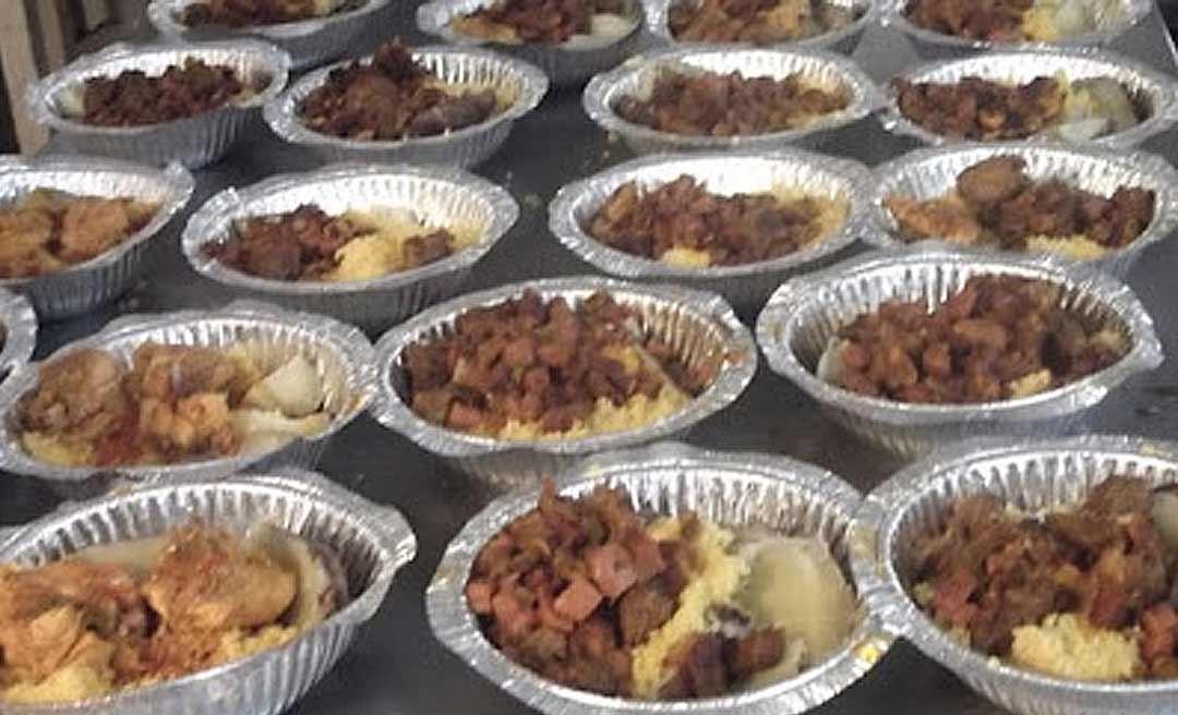Empresas diminuem comida de presos após atraso no pagamento de marmitas