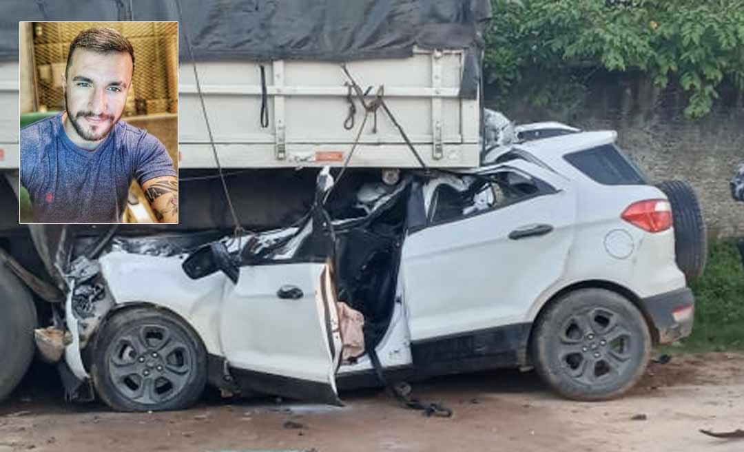 Cantor e radialista Giovanni Accioly, filho do professor Raimundo Accioly, sofre grave acidente em Tarauacá