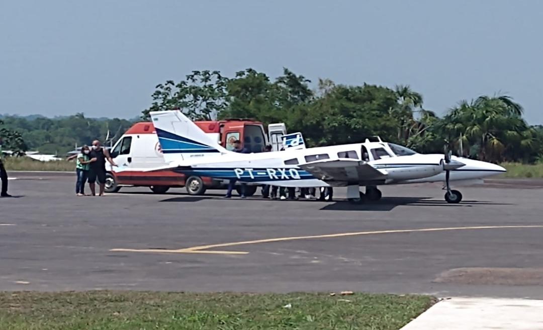 Cantor e radialista Giovanni Accioly é transferido em UTI aérea após acidente grave em Tarauacá