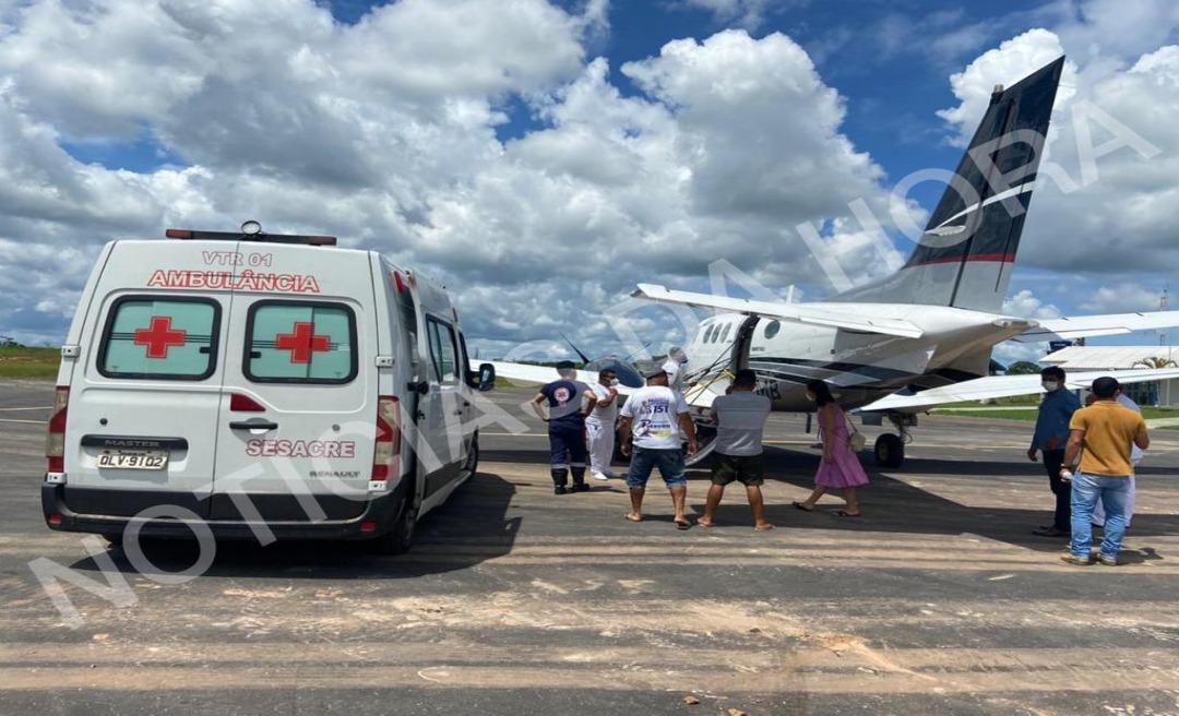 Deputado Jesus Sérgio viaja para Rio Branco para realizar exames mais detalhados após contrair dengue