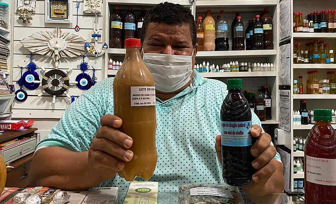 Dr. Raiz garante que gordura de arraia com jacaré pode salvar pacientes com Covid-19 que precisem de um leito de UTI