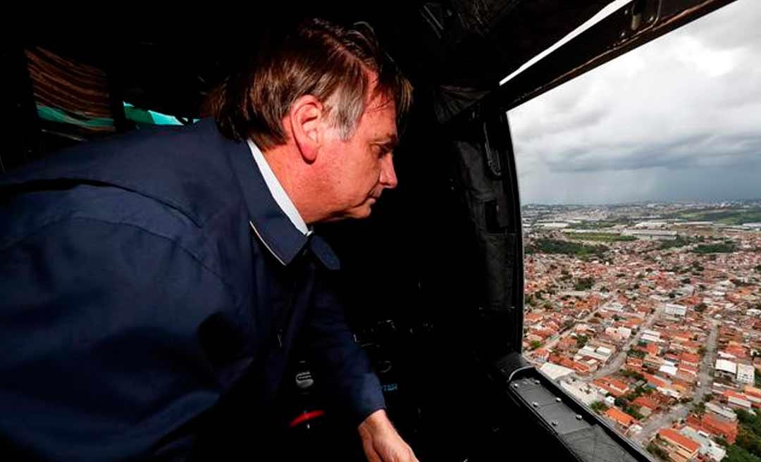 Bolsonaro vem ao Acre na próxima quarta-feira e deve fazer sobrevoo em áreas atingidas pelas enchentes
