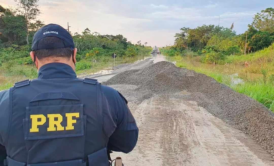 Trecho da BR-364, entre Sena Madureira e Feijó é liberado pela PRF