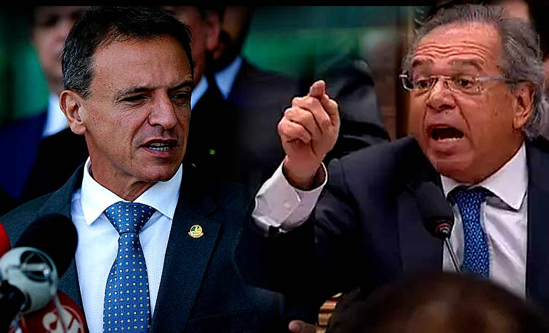 """Paulo Guedes volta a atacar Bittar e diz que Orçamento é """"inexequível"""""""