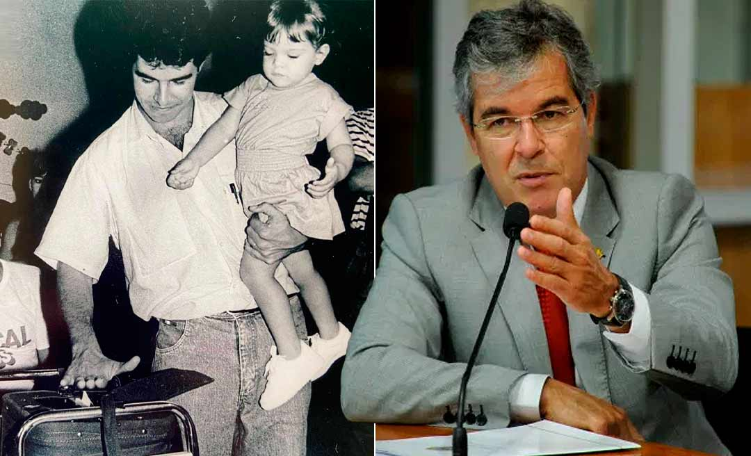 Jorge Viana posta foto com a filha e deixa claro que está no páreo na disputa pelo governo em 2022