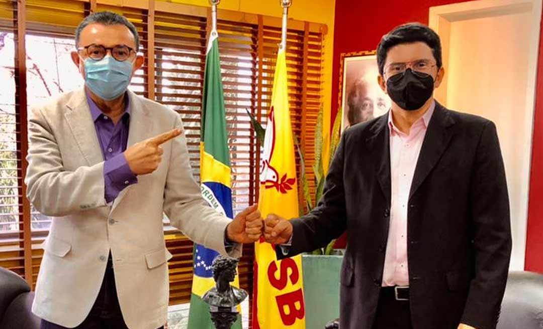 Presidente Nacional do PSB diz que pré-candidatura de Jenilson ao governo já faz parte da agenda eleitoral do partido para 2022