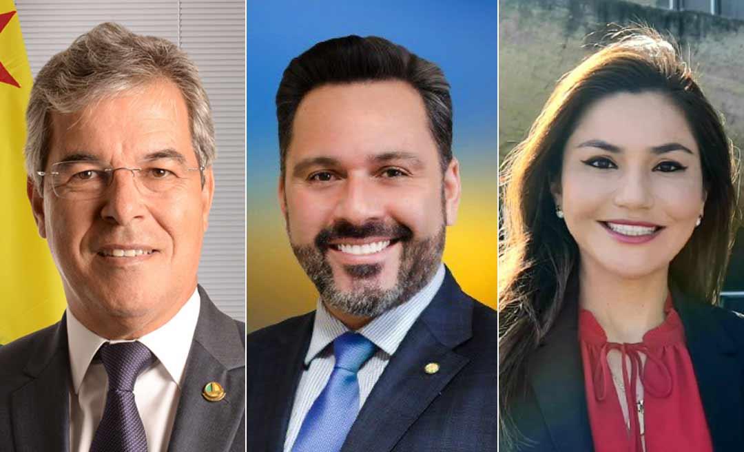 Jorge Viana lidera corrida ao Senado Federal, com Alan Rick em 2º e Jéssica Sales na 3ª posição